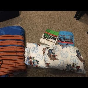 Other - Thomas the train TWIN reversable comforter/sheets